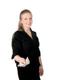 νεολαίες γυναικών μετρητών Στοκ Φωτογραφία