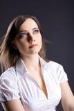 νεολαίες γυναικών ονείρ στοκ εικόνες