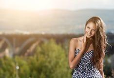 νεολαίες γυναικών οδών πό& Στοκ εικόνα με δικαίωμα ελεύθερης χρήσης