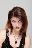 νεολαίες γυναικών πορτρέτου περιδεραίων στοκ φωτογραφίες με δικαίωμα ελεύθερης χρήσης
