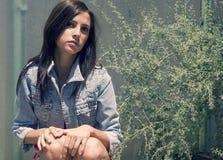 νεολαίες γυναικών πορτρέτου Στοκ Εικόνες