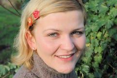 νεολαίες γυναικών πορτρέτου στοκ εικόνα