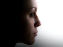 νεολαίες γυναικών πορτρέτου στοκ εικόνα με δικαίωμα ελεύθερης χρήσης