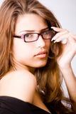νεολαίες γυναικών πορτρ στοκ φωτογραφία