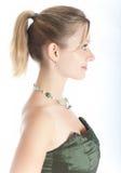 νεολαίες γυναικών πορτρ Στοκ εικόνα με δικαίωμα ελεύθερης χρήσης