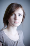 νεολαίες γυναικών πορτρ στοκ εικόνα