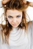 νεολαίες γυναικών πορτρ Στοκ Εικόνες