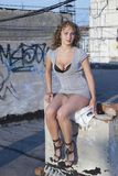 νεολαίες γυναικών στεγ στοκ φωτογραφίες
