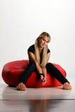 νεολαίες γυναικών συν&epsilon Στοκ Εικόνες