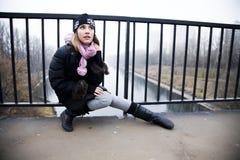 νεολαίες γυναικών συν&epsilon Στοκ εικόνα με δικαίωμα ελεύθερης χρήσης