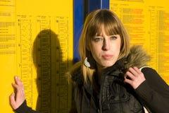 νεολαίες γυναικών τραίν&omega Στοκ φωτογραφίες με δικαίωμα ελεύθερης χρήσης