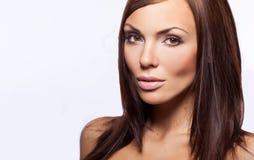 νεολαίες γυναικών brunette Στοκ εικόνες με δικαίωμα ελεύθερης χρήσης
