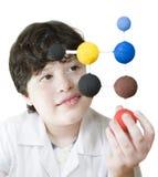 νεολαίες επιστημόνων Στοκ φωτογραφία με δικαίωμα ελεύθερης χρήσης