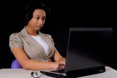 νεολαίες επιχειρηματιών αφροαμερικάνων Στοκ εικόνα με δικαίωμα ελεύθερης χρήσης