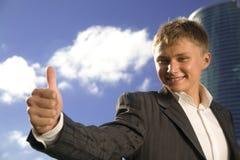 νεολαίες επιχειρηματιώ&n στοκ φωτογραφία με δικαίωμα ελεύθερης χρήσης