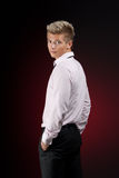 νεολαίες επιχειρησιακών ατόμων Στοκ εικόνες με δικαίωμα ελεύθερης χρήσης