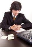 νεολαίες εργασίας επιχειρησιακών ατόμων στοκ φωτογραφία με δικαίωμα ελεύθερης χρήσης