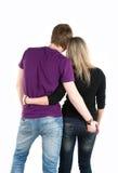 νεολαίες ζευγαριού Στοκ φωτογραφία με δικαίωμα ελεύθερης χρήσης