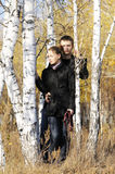 νεολαίες ζευγαριού Στοκ εικόνα με δικαίωμα ελεύθερης χρήσης