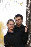 νεολαίες ζευγαριού Στοκ Φωτογραφίες
