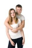 νεολαίες ζευγών Στοκ Εικόνες