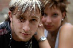 νεολαίες ζευγών Στοκ φωτογραφία με δικαίωμα ελεύθερης χρήσης