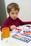 νεολαίες καλλιτεχνών στοκ εικόνες