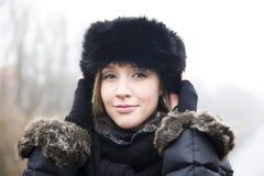 νεολαίες καπέλων κοριτ&si Στοκ εικόνα με δικαίωμα ελεύθερης χρήσης