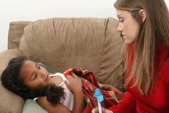 νεολαίες κοριτσιών άσθματος Στοκ φωτογραφία με δικαίωμα ελεύθερης χρήσης