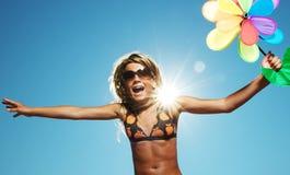 νεολαίες κοριτσιών λο&upsil Στοκ εικόνες με δικαίωμα ελεύθερης χρήσης