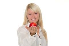 νεολαίες κοριτσιών μήλω&nu Στοκ εικόνες με δικαίωμα ελεύθερης χρήσης
