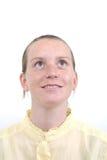 νεολαίες κοριτσιών φακίδων προσώπου Στοκ φωτογραφίες με δικαίωμα ελεύθερης χρήσης