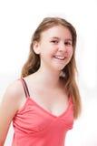 νεολαίες κοριτσιών χαμογελώντας αρκετά Στοκ Εικόνες