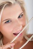 νεολαίες λευκών γυναι&k Στοκ εικόνα με δικαίωμα ελεύθερης χρήσης