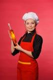 νεολαίες μαγείρων ομορφιάς Στοκ φωτογραφία με δικαίωμα ελεύθερης χρήσης