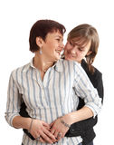 νεολαίες μητέρων κορών Στοκ εικόνες με δικαίωμα ελεύθερης χρήσης