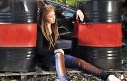 νεολαίες μόδας στοκ εικόνα