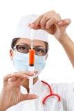 νεολαίες νοσοκόμων μασκών Στοκ Εικόνες