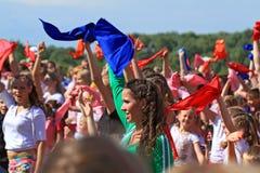 νεολαίες οδών κοριτσιών χορού Στοκ Φωτογραφία