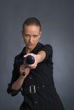νεολαίες ομπρελών κορι&t Στοκ Φωτογραφίες