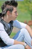 νεολαίες πορτρέτου ατόμ&ome στοκ εικόνες