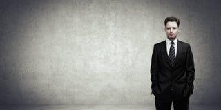 νεολαίες πορτρέτου επιχειρηματιών Στοκ εικόνα με δικαίωμα ελεύθερης χρήσης