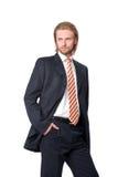 νεολαίες πορτρέτου επιχειρηματιών Στοκ φωτογραφία με δικαίωμα ελεύθερης χρήσης