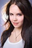 νεολαίες πορτρέτου κοριτσιών Στοκ Φωτογραφίες