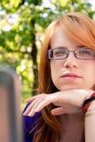 νεολαίες πορτρέτου κοριτσιών στοκ φωτογραφία