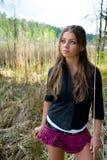 νεολαίες πορτρέτου κοριτσιών Στοκ εικόνα με δικαίωμα ελεύθερης χρήσης
