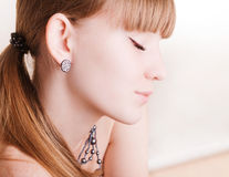 νεολαίες πορτρέτου κορ Στοκ εικόνες με δικαίωμα ελεύθερης χρήσης