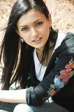 νεολαίες πορτρέτου brunette Στοκ εικόνες με δικαίωμα ελεύθερης χρήσης