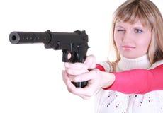 νεολαίες πυροβόλων όπλω στοκ φωτογραφίες με δικαίωμα ελεύθερης χρήσης