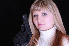 νεολαίες πυροβόλων όπλω στοκ φωτογραφία με δικαίωμα ελεύθερης χρήσης